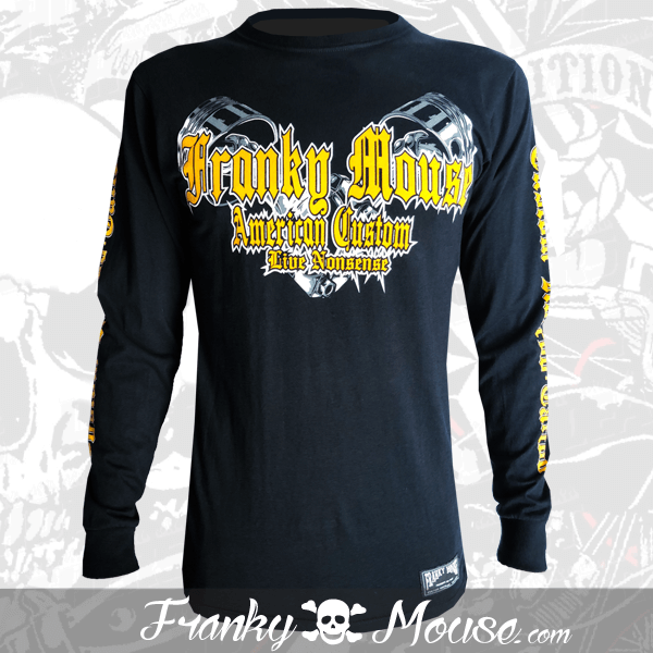 Long Sleeve T-shirt Franky Mouse Live Non Sense