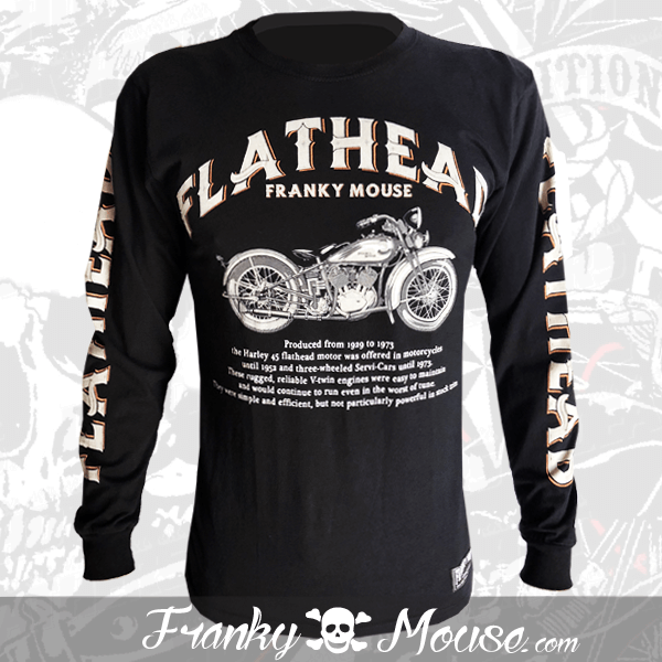 Long Sleeve T-shirt Franky Mouse Prefered FlatHead