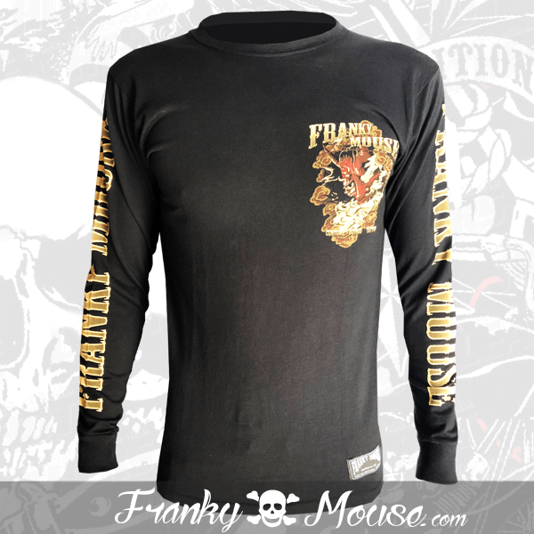 Long Sleeve T-shirt Franky Mouse Deamon Hotrod
