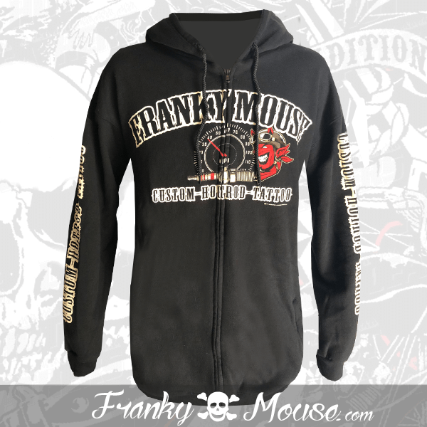 Hoodies Franky Mouse Hotrod Devil Tattoo