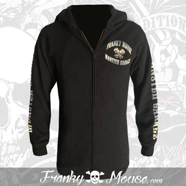 Hoodies Franky Mouse Custom Monster Garage