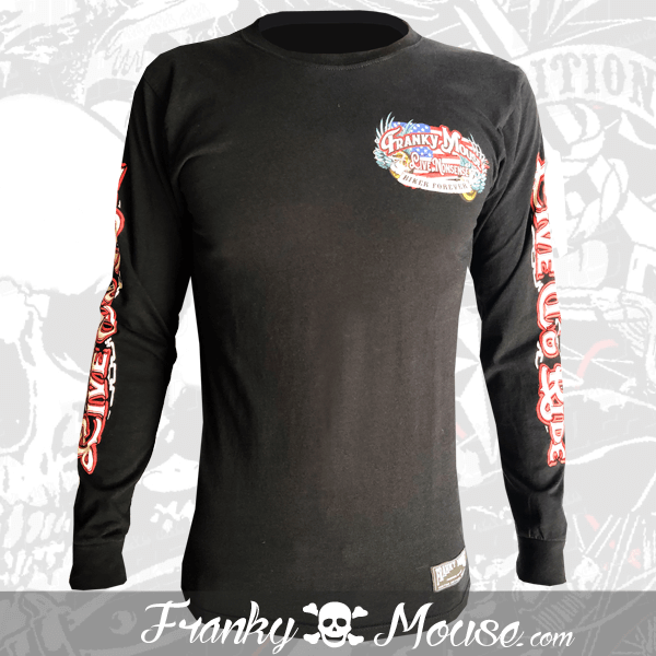 Long Sleeve T-shirt Franky Mouse Live To Ride