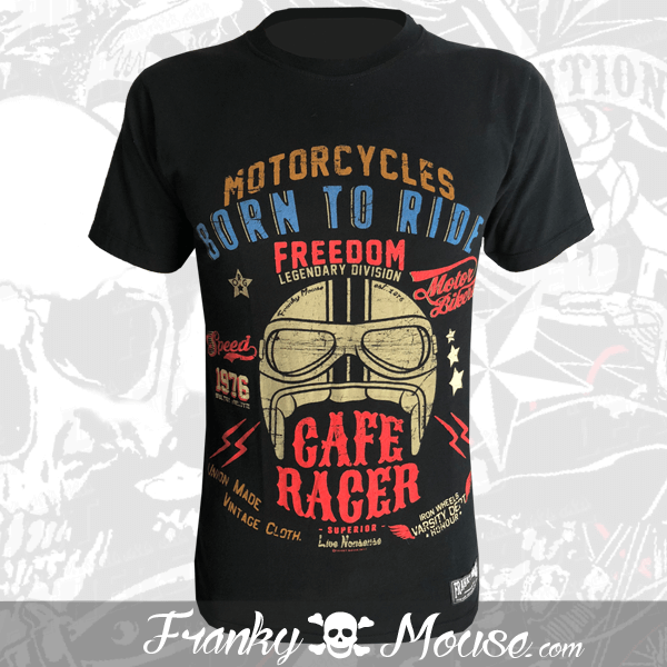 T-Shirt Franky Mouse Ride Or Die Racer