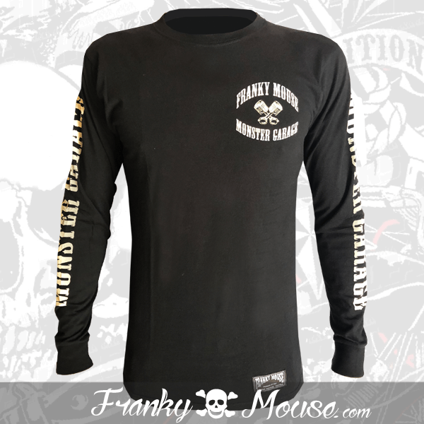 Long Sleeve T-shirt Franky Mouse Live Fast Die Hard