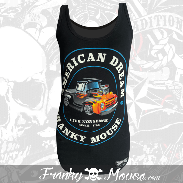 Tank Top For Women Franky Mouse American Dream