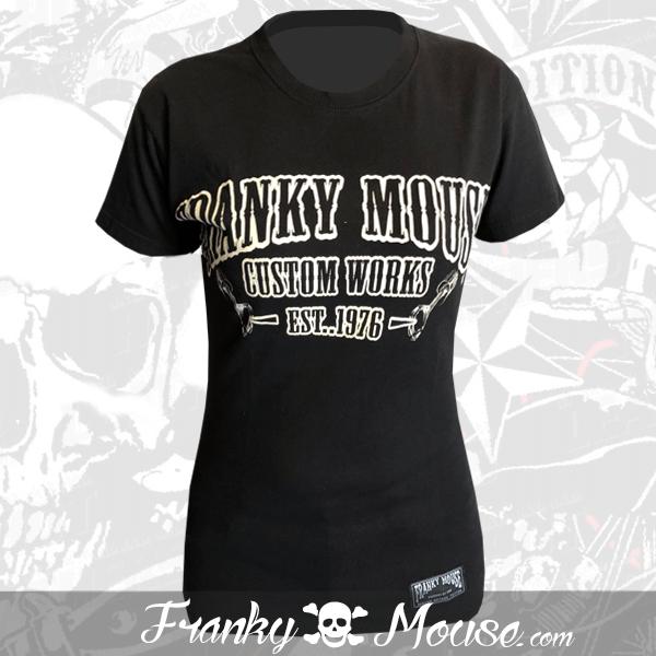 T-shirt For Women Franky Mouse Custom Work