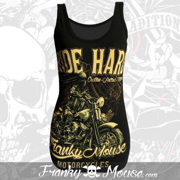 Tank Top For Women Franky Mouse Die Hard