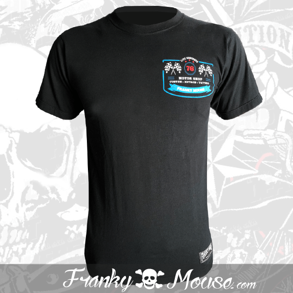 T-Shirt Franky Mouse Amercian Dream Motor