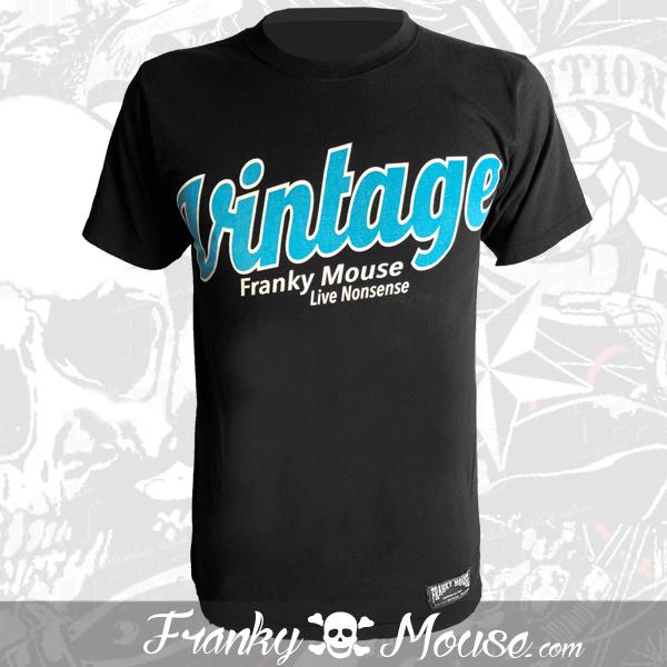 T-Shirt Franky Mouse Vintage Motor Live Non Sense
