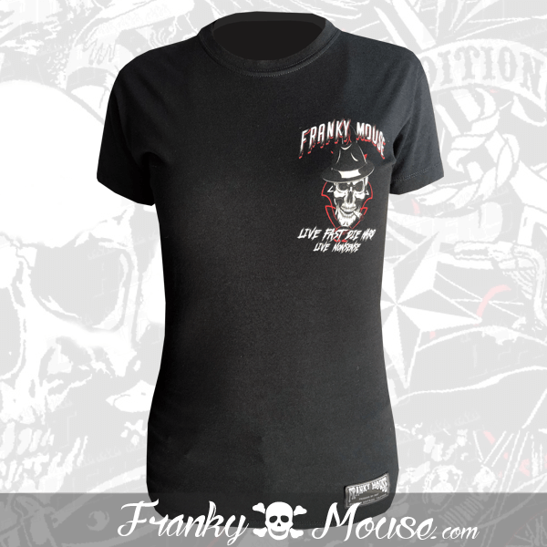 T-shirt For Women Franky Mouse Always One Wheels