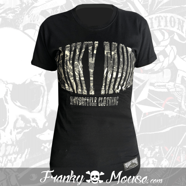 T-shirt For Women Franky Mouse Motorcycle Clothing