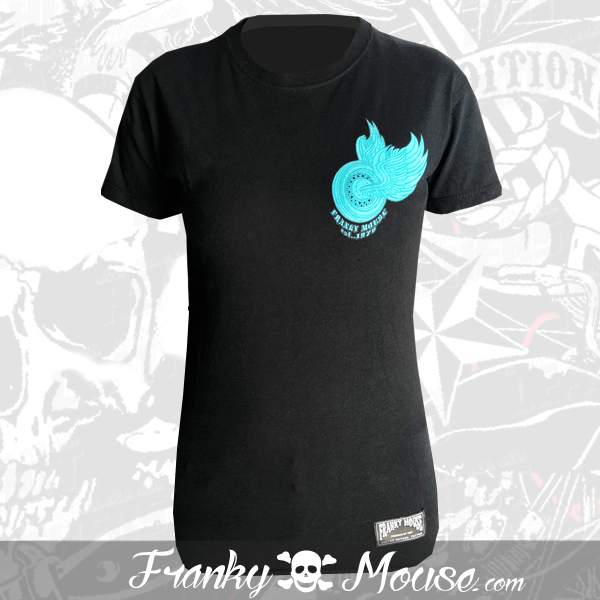 T-shirt For Women Franky Mouse Perfect My Live