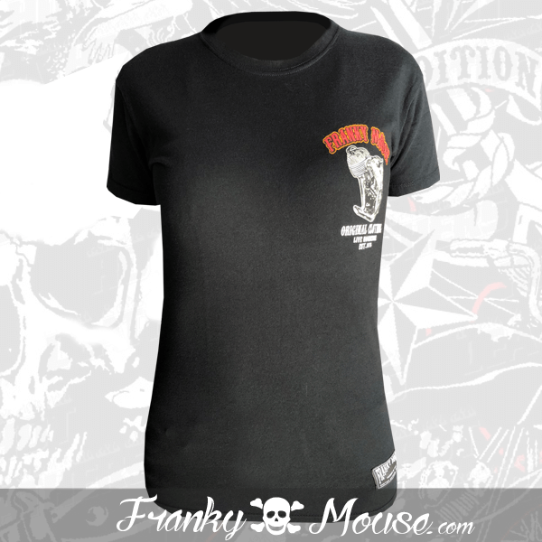 T-shirt For Women Franky Mouse Classic Vintage