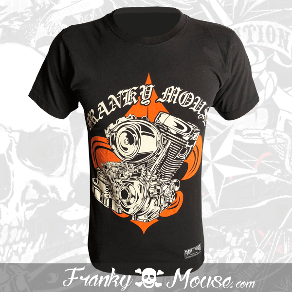 T-Shirt Franky Mouse Choppers Race Team