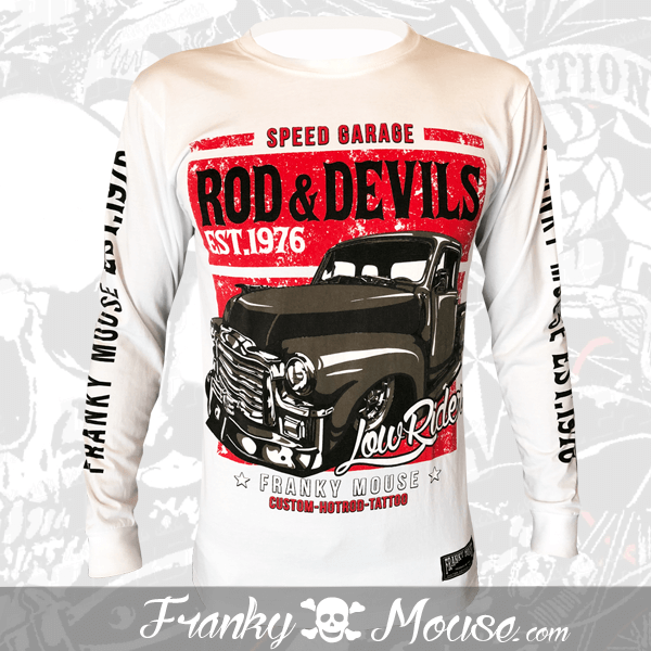 Long Sleeve T-shirt Franky Mouse Rod & Devils