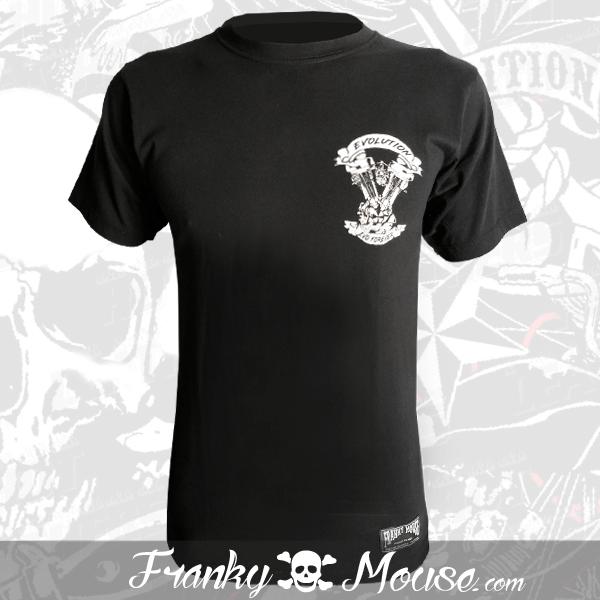 T-Shirt Franky Mouse Evolution Forever