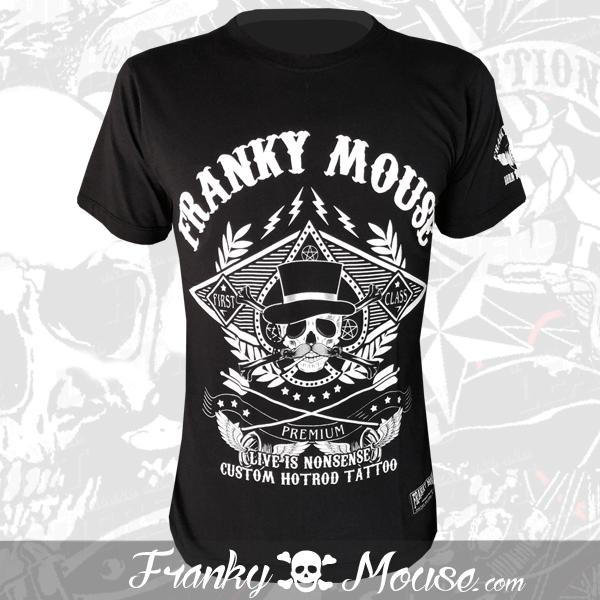 T-Shirt Franky Mouse Premium Hotrod Tattoo