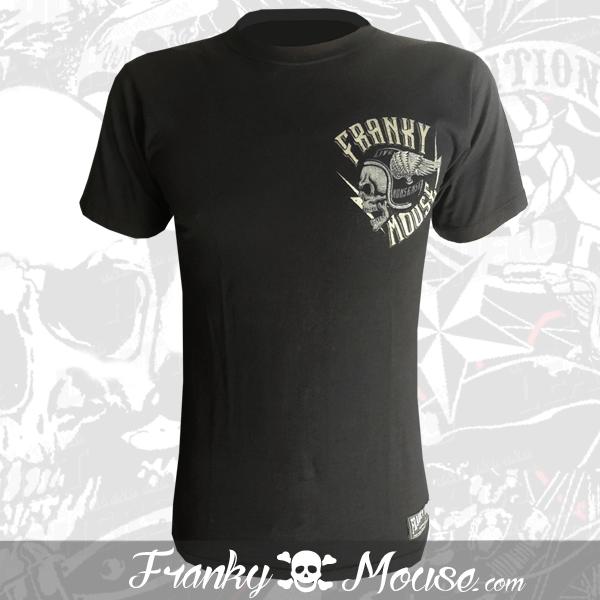 T-Shirt Franky Mouse Custom Hotrod Tattoo
